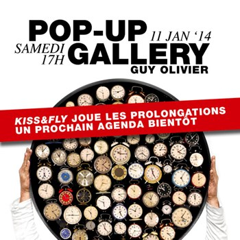Pop-up Gallery 11 januari 2014